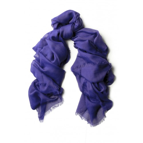 Large UNITO Royal Blue Scarf