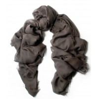 UNITO Chocolate Brown Scarf