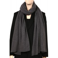 COMO solid knit wool and cashmere scarf