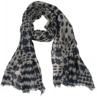 Piccolo small houndstooth oblong scarf