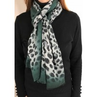 Lazzaro Animal Print Green Black