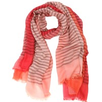 Capri large degrade stripe Coral