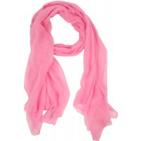 Tatiana Solid Cotton silk Gauze Pink