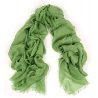 UNITO Solid Grass Green Scarf